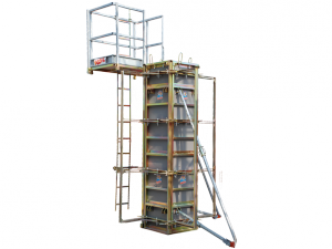 Grip Adjustable column formwork
