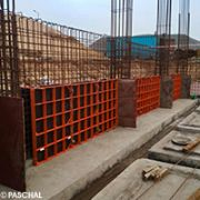 Load-bearing walls formed with PASCHAL formwork