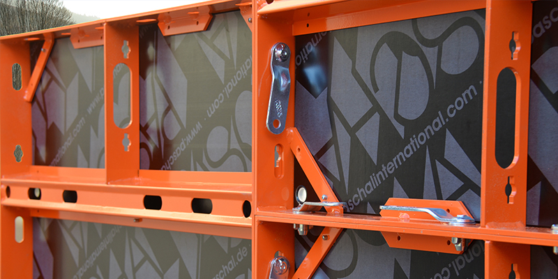 Formwork panel of NeoR lightweight formwork