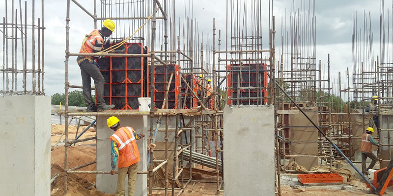 Luxury residential complex in Hyderabad with Modular Formwork