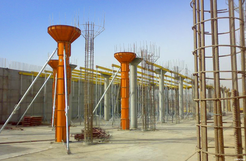 Column Formwork for round and oval shapes