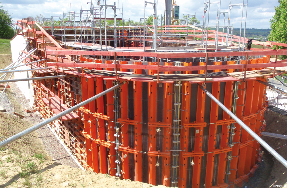 All formwork systems from PASCHAL are fully compatible