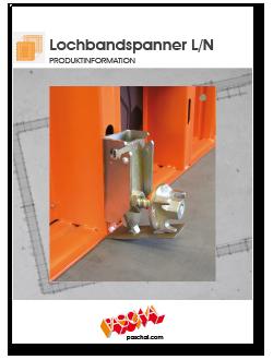Flyer LOGO Lochbandspanner