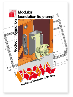 Product Information Modular Foundation Tie Clamp